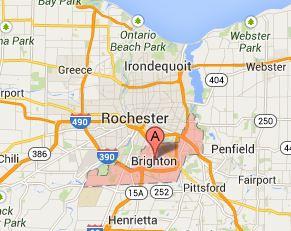 Rochester and Brighton, NY 14610